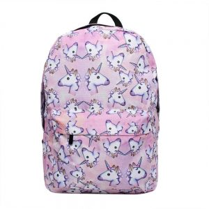 backpack pink unicorn emoji at sell