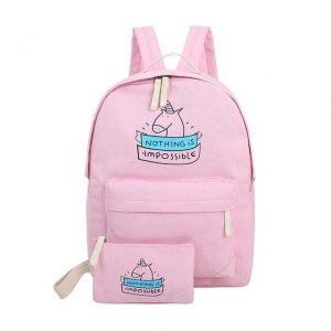 backpack unicorn pink supply school unicorn