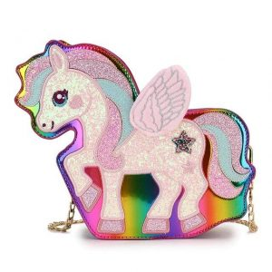 bag at hand unicorn bow in sky at sell