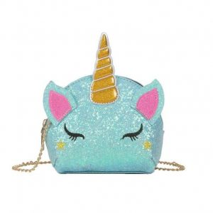 bag at hand unicorn sparkling green bag at hand unicorn