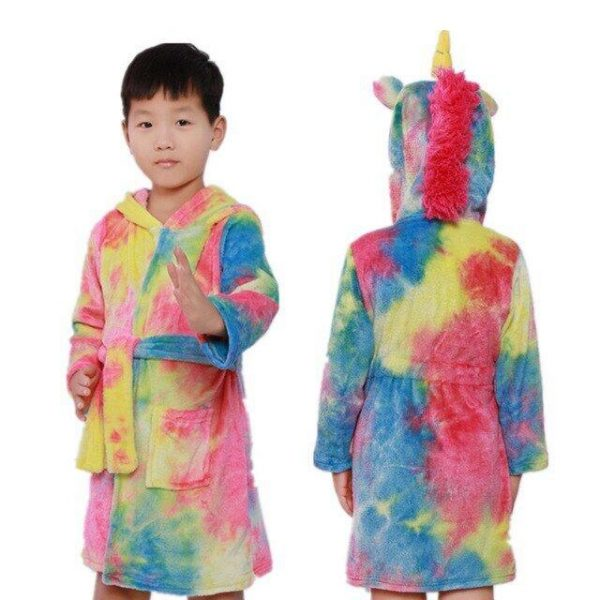 bathrobe unicorn boy 11 years old bathrobe unicorn