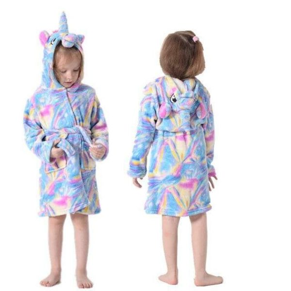 bathrobe unicorn child 11 years old not dear