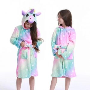 bathrobe unicorn multicolored 11 years old unicorn toys store