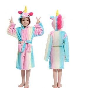 bathrobe unicorn small girl 11 years old price
