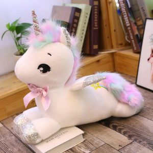 big plush unicorn white 80 cm price