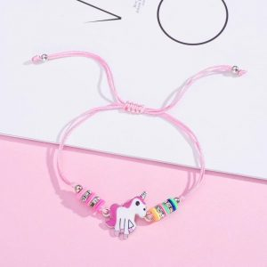 bracelet unicorn girl pink jewelry unicorn