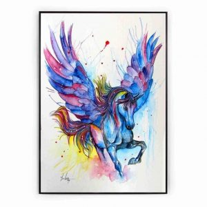 canvas pegasus 60x90cm canvas unicorn