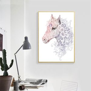 canvas portrait unicorn 60x90cm at sell