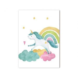 canvas unicorn canvas 50x70cm buy
