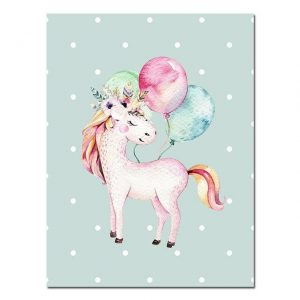 canvas unicorn child 15x20cm buy