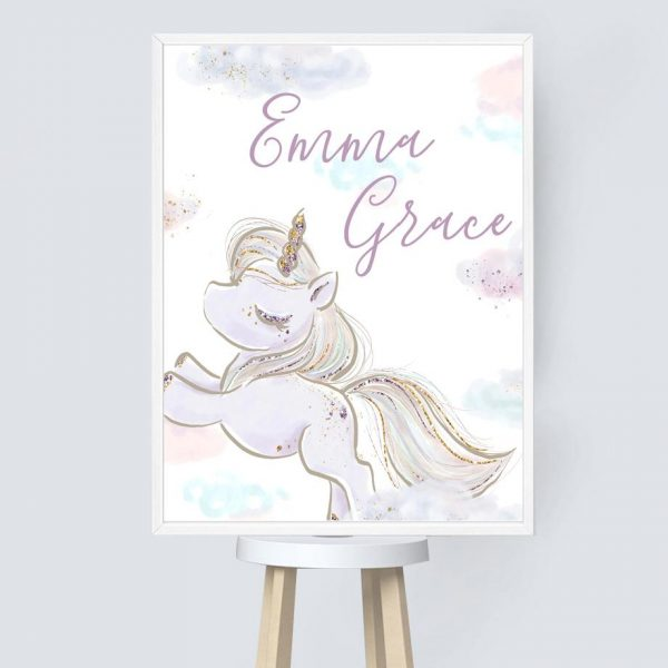canvas unicorn dancer 60x100cm unicorn toys store