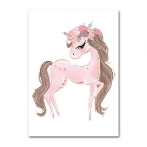 canvas unicorn elegant 30x42cm not dear