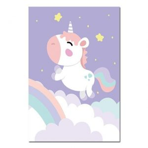 canvas unicorn flying 60x90cm price