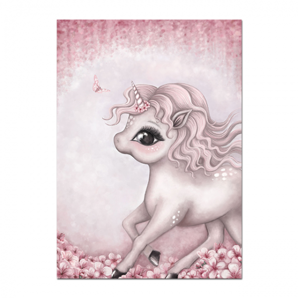 canvas unicorn nice to meet you 57x80cm at sell
