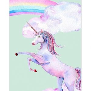 canvas unicorn sky 60x90cm buy