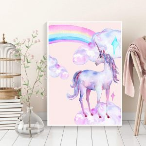 canvas world unicorn 60x90cm unicorn toys store