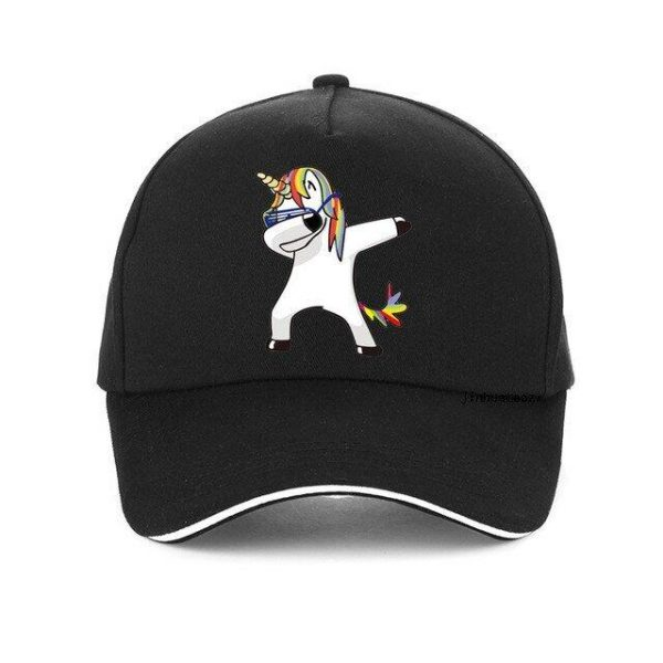 cap unicorn black adjustable not dear