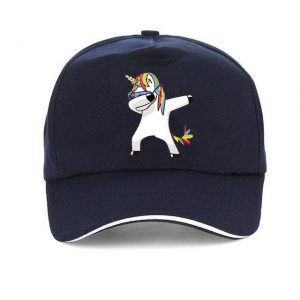 cap unicorn blue marine adjustable not dear