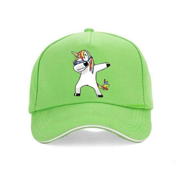 cap unicorn green adjustable clothing unicorn