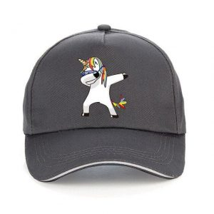 cap unicorn grey adjustable unicorn toys store