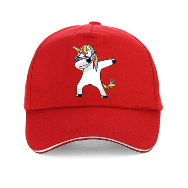 cap unicorn red adjustable buy