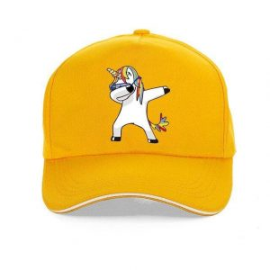 cap unicorn yellow adjustable at sell