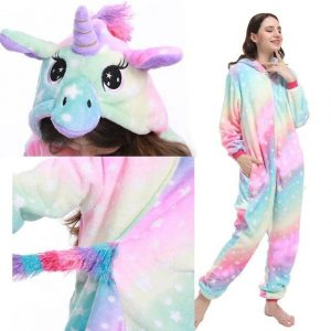 combination unicorn multicolored xl