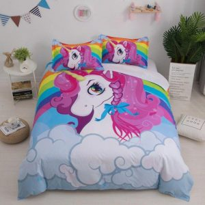 cover of quilt child unicorn cute 140x200 unicorn toys store