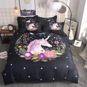 cover of quilt emoji unicorn 180x200 at sell