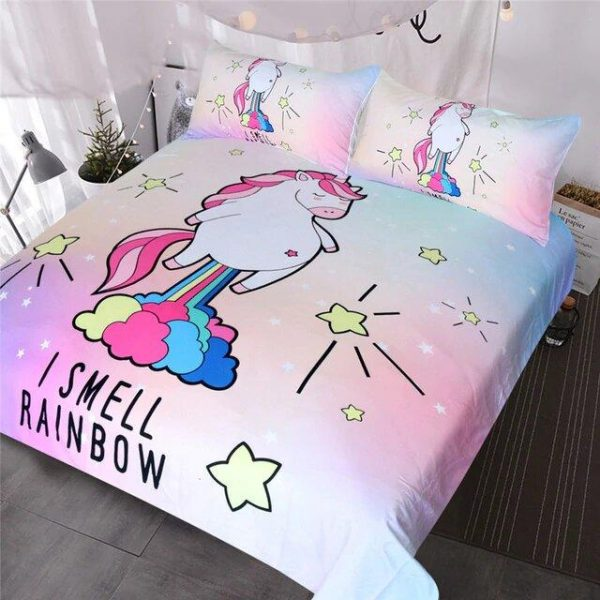 cover of quilt fart unicorn bow in sky 220x240 at sell
