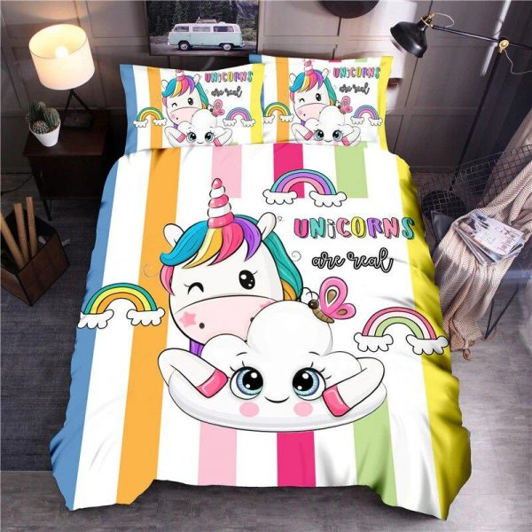 cover of quilt girl unicorn 90x190 at sell