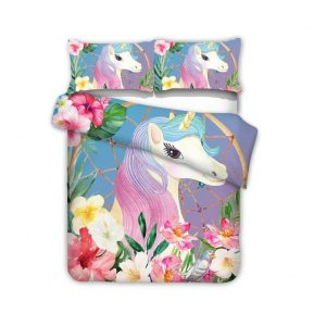 cover of quilt pattern unicorn cute 90x190 buy