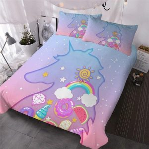 cover of quilt shadow unicorn 180x200 not dear