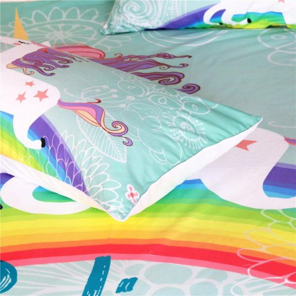 cover of quilt unicorn 1 person 180x210cm at sell