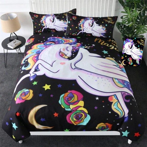 cover of quilt unicorn 1 person 90x190 not dear