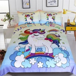 cover of quilt unicorn 220x240 220x240cm cover of quilt unicorn 220x