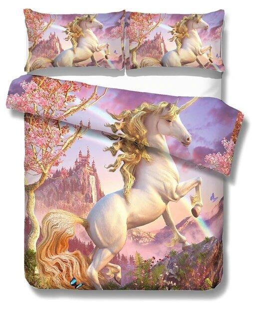 cover of quilt unicorn fantasy 90x190 not dear