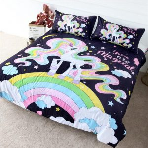 cover of quilt unicorn girl bow in sky 220x240 price