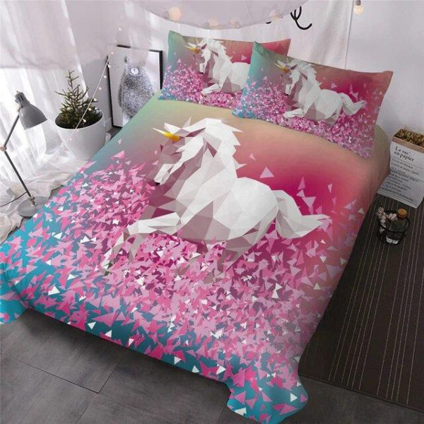 cover of quilt unicorn in 3d