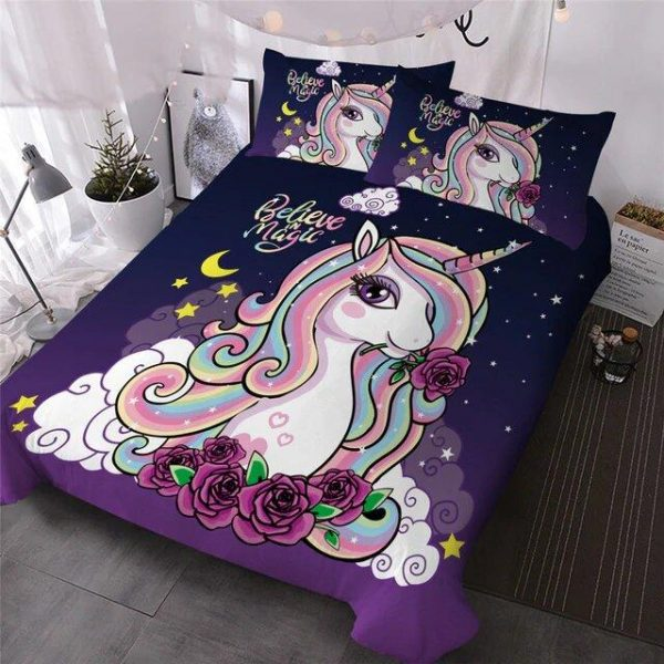 cover of quilt unicorn night 220x240 not dear
