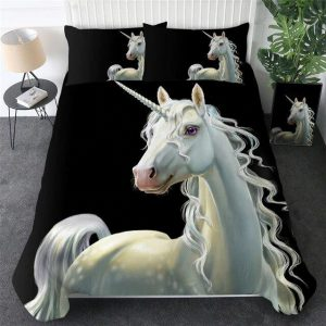 cover of quilt unicorn realistic 90x190 unicorn toys store