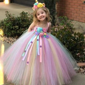 dress unicorn for girl 9 years price