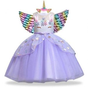dress unicorn girl four years unicorn toys store