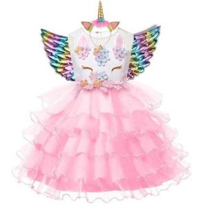 dress unicorn girl pink 10 years unicorn toys store