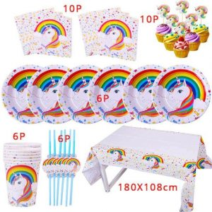 kit anniversary unicorn bow in sky