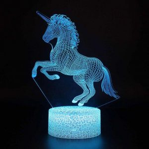 lamp unicorn 3d 16 colors price