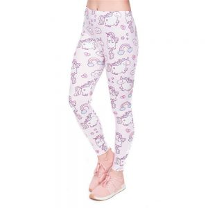 leggings unicorn girl leggings unicorn