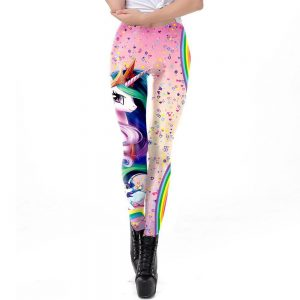leggings unicorn heart l