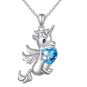 necklace baby unicorn