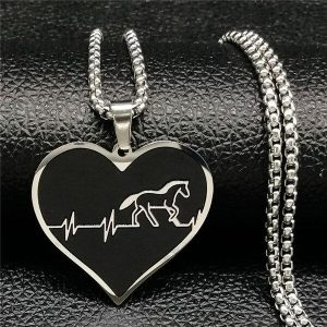 necklace beat of heart unicorn buy